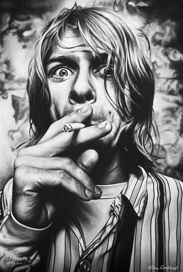 Kurt Cobain par chaosart
